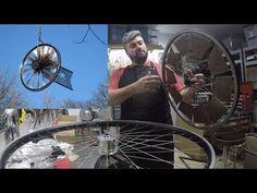 HOW TO: bicycle wheel weathervane kinetic art sculptures Wind Sculptures, Sculpture Art, Mobile Sculpture, Weather Vanes, Bicycle Wheel, Kinetic Art, Wind Spinners, Art For Art Sake, Outdoor Art