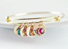 Hey, I found this really awesome Etsy listing at https://www.etsy.com/listing/217227728/mom-bangle-bracelet-personalized