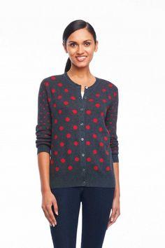 Foxcroft Easy Dot Cardigan | Foxcroft Clothing