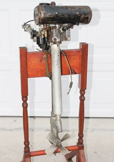 CIRCA 1950 OLD 1.5HP BRITISH SEAGULL 40 OUTBOARD MOTOR SERIAL NUMBER F I77K2 #Seagull