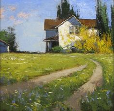 "Artist : Romona Youngquist American Painter. ""LANDSCAPES"""