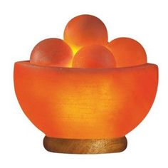 Salt crystal lamp for a happy home