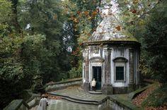 Classical garden pavilion