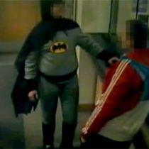 British Batman captures criminal!