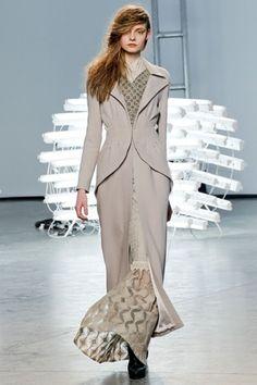 winter designer coats 2012 by Rodarte