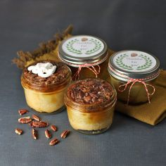 Best Recipes in A Jar - Traditional Pecan Pie In A Jar - DIY Mason Jar Gifts, Cookie Recipes and Desserts, Canning Ideas, Overnight Oatmeal, How To Make Mason Jar Salad, Healthy Recipes and Printable Labels http://diyjoy.com/best-recipes-in-a-jar