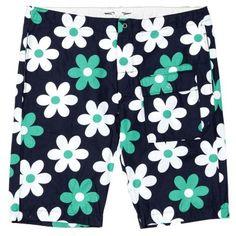 Engineered Garments Lafayette Shorts (Navy Oversized Floral)