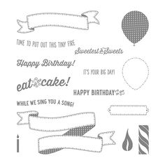 Birthday Banners, Stampin' Up!