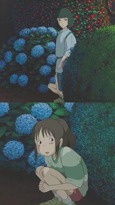 센과 치히로의 행방불명 : 네이버 블로그 Hayao Miyazaki, Studio Ghibli Movies, Anime Manga, Anime Art, Isao Takahata, Film Studio, Spirited Away, Japanese Film, Animation Film