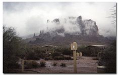 The Superstition Mountains and the Lost Dutchman's Mine- Legends about this mountain range, and the possible hidden gold within has fascinated people for over 100 years.
