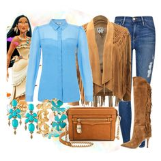 """Pocahontas"" by violetvd on Polyvore"