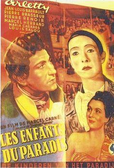 Affiches anciennes de cinema Les Enfants du Paradis