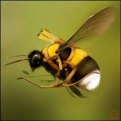 http://gaudibuendia.deviantart.com/art/bumble-bee-archer-509800581