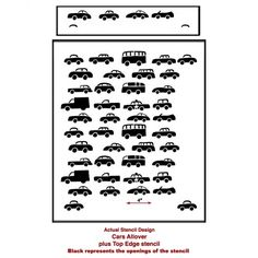 9-cars-wall-stencils-for-play-rooms-nurseries