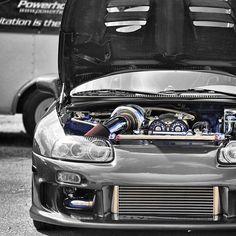 Whats under the Bonnet? Built Toyota Supra