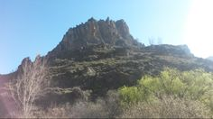 Bjergtop i Monachil - vi kom forbi den på den skønne vandrerute Los Cahorros ved Sierra Nevada. #Monachil #Cahorros