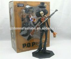2015 new wholesale 28cm One Piece Brook PVC japanese anime action figure, View goku, donnatoyfirm Product Details from Guangzhou Donna Fashion Accessory Co., Ltd. on Alibaba.com
