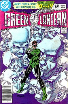 gil kane green lantern cover
