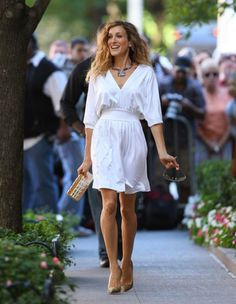 Be like Sarah Jessica Parker Fun..bold..strong & a business woman who loves life and lives in the moment