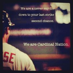 Proud to be a part of Cardinal Nation #12in12