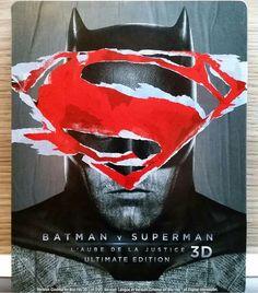 "Steelbook Bluray ""Batman vs. Superman"""