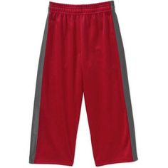 Garanimals Baby Toddler Boys' Tricot Taped Pants, Toddler Boy's, Size: 3 Years, Red