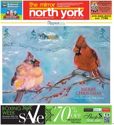 December 25 West We are a local newspaper reflecting the lives of our readers by covering what's important to them: The people and events in their own communities. Native Child, North York, December 25, Newspaper, Events, People, Art, Kunst, People Illustration