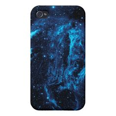 Blue Nebula iPhone Case iPhone 4 Cases