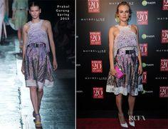 Diane Kruger In Prabal Gurung – InStyle 20th Anniversary Celebration