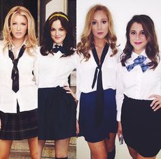 diy blair and serena gossip girl halloween costume sorority pinterest gossip girls halloween costumes and costumes