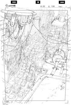 Sketch , vertical , street , perspective tumblr_ncxfhk7fId1tqz96ao2_1280.jpg 1 280 × 1 895 pixels