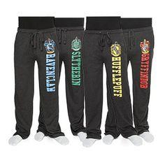 Harry Potter House Unisex Lounge Pants   ThinkGeek