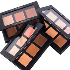anastasiabeverlyhills Surprise Cream Contour Kits are here February 17th on my website and Macy's. 3kits - $40 per kit & it's a lot of product