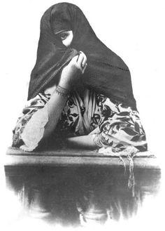 Perú, siglo XIX: Tapada limeña