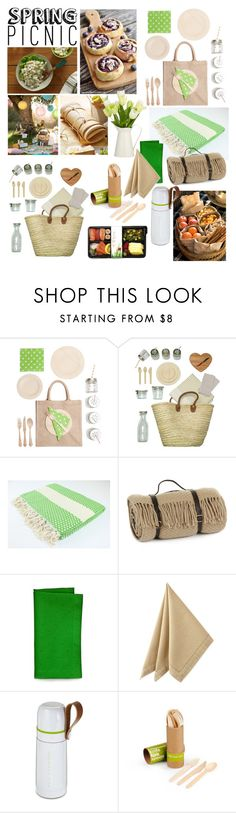 """Spring Picnic"" by taci42 ❤ liked on Polyvore featuring interior, interiors, interior design, home, home decor, interior decorating, ACME Party Box Company, Tweedmill, Kate Spade and Waterford"