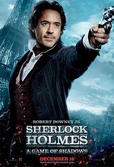 Sherlock Holmes 2 new posters