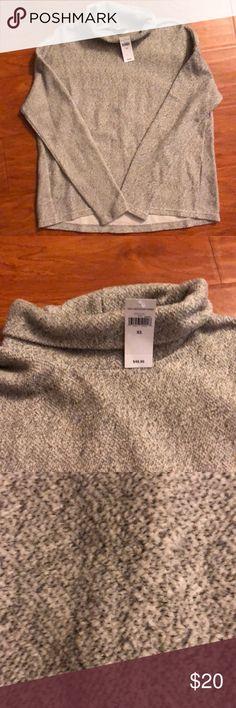 *FINAL PRICE DROP* Banana Republic sweater! Cotton sweater. New with tags. Banana Republic Sweaters