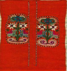 Beautiful bulgarian embroidery pattern