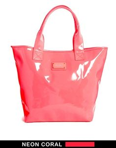 Seafolly Beach Tote Bag in Coral