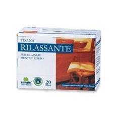 Valverbe Tisana Rilassante Valverbe – azione calmante del sistema nervoso, 20 filtri a soli 3,30€