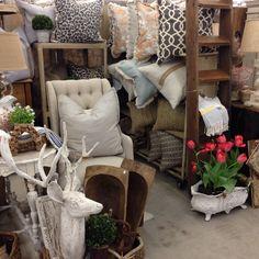 Scott Antique Market - March 2014: Handmade Pillows