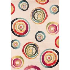 Modern design watercolour colour rug Capri V by Sitap at My Italian Living Ltd