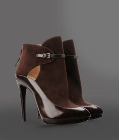 8dfa16a2084d Giorgio Armani ankle boots (brown suede