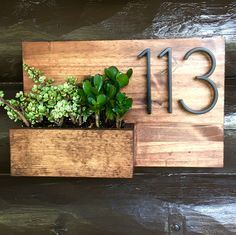 New house numbers! ❤️