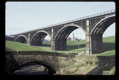 Crawford's Bridge and the Ouseburn Viaduct, 1972