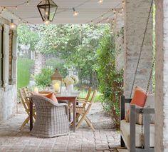 traditional porch by Linn Gresham Haute Decor
