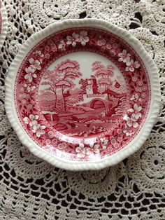 carolinajewel's table: Spode Pink Tower China and the Carmen Connection