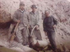 شکار کل.منطقهء رومه گرمسار.پدرم سمت راست.