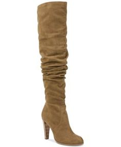 Carlos By Carlos Santana Delia Over-the-Knee Boots $169.00 A slouchy and alluring, over-the-knee silhouette gives your outfit eye-catching appeal in Carlos by Carlos Santana's Delia boots.