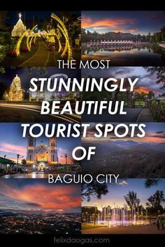 Have you visited some beautiful tourist spots in Baguio city? There are so many Baguio Tourist Spots that are popular to visit. Baguio Philippines, Philippines Travel Guide, Visit Philippines, Beautiful Islands, Beautiful World, Beautiful Places, Cool Places To Visit, Places To Go, Philippine Holidays